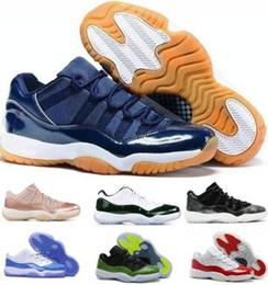 separation shoes e80f7 f3139 air 11 low Sconti 2019 Space Jams 11 11s Scarpe da pallacanestro Sneaker  Low Uomo Donna
