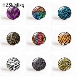 2020 jóias zebra Animais Impressões Tiger Zebra padrão de leopardo 16 milímetros / 20 milímetros / 25mm engraçado arte de vidro cabochão resultados da jóia Components desconto jóias zebra