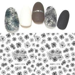 Tül Çiçek Liner Nail Art Sticker Çıkartmaları 3D DIY Dekorasyon İpuçları Jel Lehçe # 765 nereden