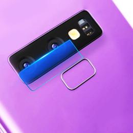 verres trempés blu Promotion 100x caméra arrière objectif en verre trempé Protecteur d'écran pour Samsung Galaxy S8 S8Plus doux 8H plats chauds flexibles de protection des fibres