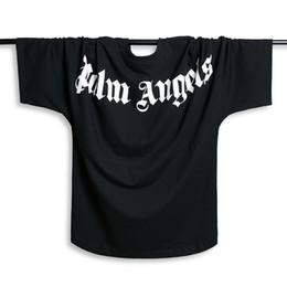 ad1e2bac5e2d3 Palm Angels T-shirt Hommes Femmes Manches Chauve-Souris t shirt Harajuku T- shirt Hip Hop Streetwear Marque D'été Coton Vêtements Imprimés Tees Tops  Mode