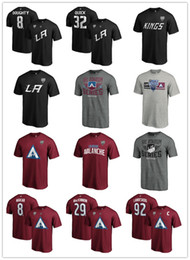 2021 t-shirt los angeles  Nathan MacKinnon 92 Landeskog 8 Makar Colorado Avalanche 2020 Stadio Serie Los Angeles 11 Kopitar Re 8 Doughty 32 rapidi magliette Fans