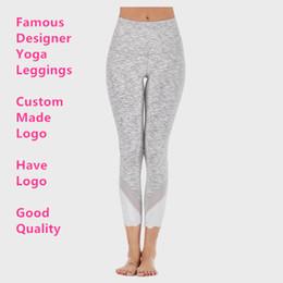 Calças de yoga de gaze on-line-Calças Alinhe Canadá Yoga Marca Mulheres Designer Leggings Lady Sexy Gauze G Gym joggings L Sports Academia L Leggings ter o logotipo U