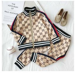 2019 mädchen winter sweatshirt stile Junge Mädchen Kinder Kleidung Sets 2019 New Tracksuits Mode Jacken Jogger beiläufigen Sport-Art-Sweatshirt günstig mädchen winter sweatshirt stile