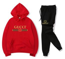 Homens esportes ternos de lazer on-line-NO.66 2019 Marca Designer de lazer terno homens e mulheres de inverno nova moda terno Esporte roupas de Alta qualidade