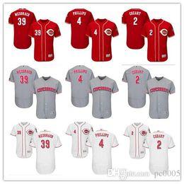 43600d40e custom Men s Women Youth Majestic Reds Jersey  39 Devin Mesoraco 2 Zack  Cozart 4 Brandon Home Red White Baseball Jerseys