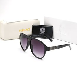lente ultravioleta Desconto 2019 novos óculos de sol verão óculos de sol dos homens das mulheres moda óculos de sol milionário anti-ultravioleta lentes polarizadas marca caixa de presente