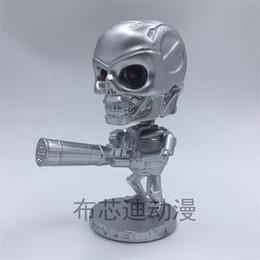 Aksiyon Figürleri Terminator Genesis Robot Model Oyuncaklar S Versiyonu Başını Sallamak Bebek Heykelcik Oyuncak Kafatası Hedi ... cheap robots dolls nereden robot bebekleri tedarikçiler