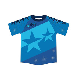 Blue T-Shirt Chucky 3D Sublimation All Over Printing