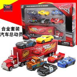 Juego de auto movilización de Mai Dashu con seis pequeños contenedores de juguete de aleación de niños en combinación de juguete delantero desde fabricantes