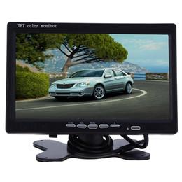 2019 auto armaturenbrett tvs XM722T 7-Zoll-Auto-Kopfstützen-Display 234 x 480 TFT-LCD-Monitor