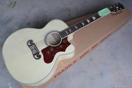 2019 cutaway akustikgitarren Großhandel Cutaway Akustikgitarre natürliche Holz mit Fishman presys Mischung Pickups Akustik-E-Gitarre günstig cutaway akustikgitarren