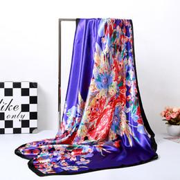 Tessuto di seta della stampa del tessuto di seta del gelso di 90 * 90cm per il letto scraf dello vestito da