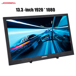 """2019 n box tv 13,3 """"1920 * 1080P 16: 9 широкоэкранный светодиодный портативный мини HDMI дисплей 60HZ IPS панель"""