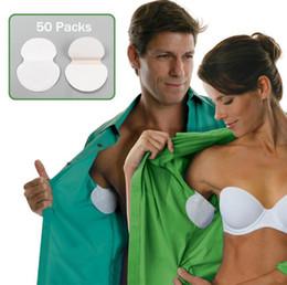 Protections jetables de garde de sueur d'aisselles absorbantes désodorisantes aisselle feuille robe vêtements bouclier sueur tampons de transpiration 1pairs = 2pcs ? partir de fabricateur