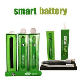 Organik akıllı Carts 1.0ml Kalın Yağ Kartuşu için USB Şarj Akıllı Sepet Pil Vape Kalem 510 Onceden Piller 380mAh Vaporizer Kalemler nereden