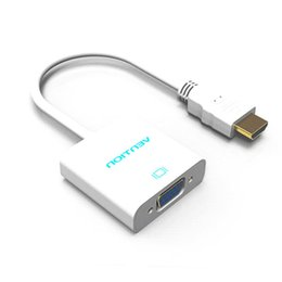 Vídeos laranja on-line-Alta qualidade HDMI Para VGA Conversor de alta qualidade raspberry pi 3 HDMI VGA Adaptador para Projetor de Computador set top box para Orange pi PC