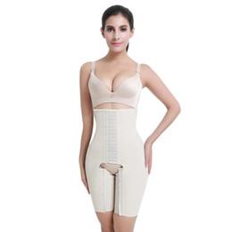 bb07baca898 full body shaper plus size Promo Codes - Feelingirl Waist Trainer Bodysuit  Women 100% Latex