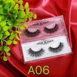 2019 maquiagem de um olho Dez Pares Um Lote 3D Mink Cílios Maquiagem dos olhos Vison cílios Falsos Macio Natural Grosso Cílios Falsos Eye 3D Lashes Extensão maquiagem de um olho barato