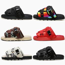Homens chinelos praia casual on-line-Nova Marca Visvim Chinelos Sapatos Da Moda Mans E As Mulheres Amantes Sapatos Casuais Chinelos Sandálias De Praia Ao Ar Livre Chinelos Hip-hop Sandálias De Rua