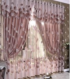 Rideaux modernes pour la cuisine en Ligne-Luxe moderne Feuilles Designer Rideau Tulle fenêtre Sheer Rideau pour Salon Chambre Cuisine Screening Panneau de fenêtre