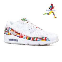 new product 9873d 078c6 2019 menthe blanche nike air max 90 2019 Hommes Chaussures Classique 90  Femmes Chaussures Université-