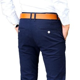 Distribuidores de descuento Pantalones De Color Caqui Para Hombres ... 70d1b921f6c3
