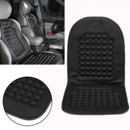 gestrickte autositzbezüge Rabatt Neue Ankunft Universal Komfortable Auto Van Sitzbezug Massage Gesundheit Kissen Beschützer