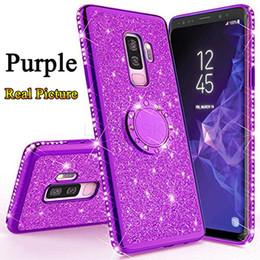 Placage de luxe Bling Diamond Silicone Couverture Arrière Pour Samsung Galaxy S9 S8 A7 A6 A8 Plus 2018 Note 9 8 S7 Soft TPU Cas de téléphone ? partir de fabricateur