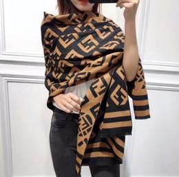 Schal für Frauen Designer-Schal Mode-Marke Schal aus 100% Cashmere-Schal für den Winter Damen und Herren Lange Wraps Größe 180x30cm von Fabrikanten