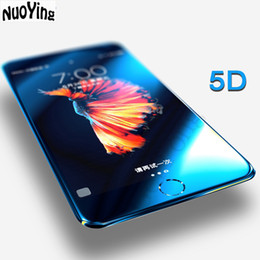 2019 casi 3d per ascendere huawei 5D Premium Tempered Glass For iPhone X 7 8 6 S 6S Plus + Full Cover Screen Protector Protective 3D 4D Upgrade Curved Edge Film