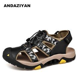 Sandali da uomo Baotou da spiaggia per uomo estate nuovi di tendenza cuoio  di tendenza del sandalo degli uomini economici f00aa5a8d8c