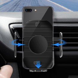 2019 soporte de sensor 1 unids 10 W Sensor Infrarrojo Cargador Inalámbrico de Coche Automáticamente Sensor Inteligente Auto-Cerrar Coche Cargador Rápido Soporte Dropship rebajas soporte de sensor