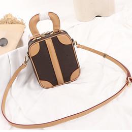 2020 esquinas de equipaje diseño de lujo crossbody solo hombro de los bolsos de las mujeres de 19 mini-equipaje de la lona de edades comprendidas entre los rincones de cuero reales VVN glamour de la vendimia esquinas de equipaje baratos
