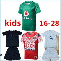 Camiseta de Liga de Rugby TONGA NATIONL LEAGUE de TONGA NATIONL de la mejor calidad 2019 para niños Camiseta de PACÍFICO de PACÍFICO camisetas de rugby desde fabricantes