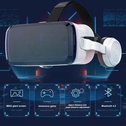 s6 edge plus smartphone Desconto VR 1080 P FHD Imersiva VR Tela 3D Realidade Virtual Bluetooth Headset Óculos Integrados Capacete Realidade Virtual