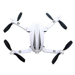 toy 3d helicopter Promo Codes - Folding WiFi FPV RC Quadcopter Drone With 720P Camera White Front LED Lights Red LED Behind Lights 3D Rollover Helicopters Toys
