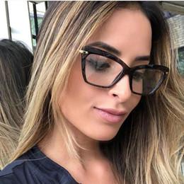 Deutschland Modestile Metallbeine Markendesigner Cat Eye Brillen Optische Acetatrand Brillen für Frauen Brillen Brillengestell UV400 Versorgung