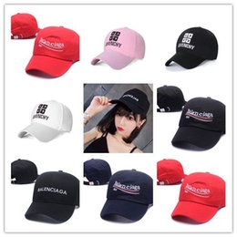 strapback fitted caps Promo Codes - New Arrival 2018 black Vetements BNIB hat Ladies Mens Unisex Red Baseball cap best caps strapback lives matter Hats casquette