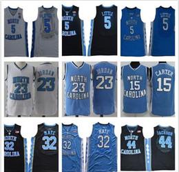 2020 michael jackson azul 2019 NCAA North Carolina Tar Heels 5 Nassir Pequenas 32 Luke Maye 15 Carter 23 Michael Jackson 44 Faculdade azul Basketball Jerseys desconto michael jackson azul