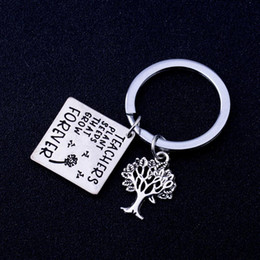 2019 semi di alberi crescenti 12 pz / lotto insegnanti semi di piante che crescono per sempre portachiavi insegnanti regalo albero della vita fascino portachiavi regalo di laurea per insegnante semi di alberi crescenti economici