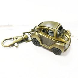ver texturas Rebajas Enfermera retro del coche reloj de bolsillo tendencia bronce moda espejo de cristal textura de la aleación correa regalo de año nuevo venta al azar