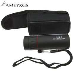 Télescope de vision nocturne mini monoculaire en Ligne-Télescope monoculaire haute définition 8x Télescope monoculaire 8X21 Scope Zoom 131M / 1000M HD Mini Accessoires de vision nocturne extérieure portative