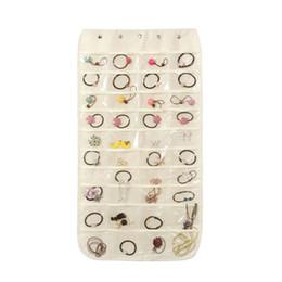 1 Stück Hängen Aufbewahrungstasche Handtasche Ohrringe Ketten Hängen Schmuck Halter Display Tasche Organizer für Armband Halsketten Wohnkultur von Fabrikanten