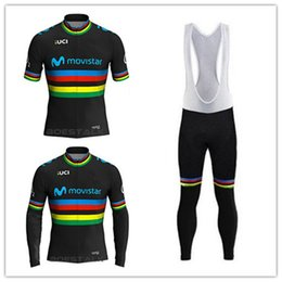 2018 new century UCI World Champion Color strip Edition TOUR EUROPA team  Custom Cycling Jersey race ciclismo bicycle equipment e07d9658e