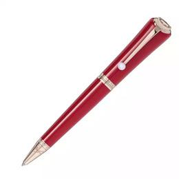 stylo marque parker Promotion Stylo de luxe MB stylo marque édition limitée Muses Marilyn Monroe signature stylos à bille classiques avec stylos cadeau Clip Pearl + donner sacs de velours