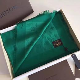 2019 bufanda india al por mayor Bufanda de lujo de buena calidad para mujer, algodón de seda, diseñador de letras, bufanda de marca, mantón, bufandas para mujer, tamaño 140x140 cm