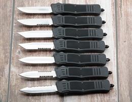 Poliertes taschenmesser online-Medium 616 D / A Automatikmesser D2 Stahl polnisch EDC Taschenmesser Tactical Knives A161 Weihnachtsgeschenk für Männer Mann Geschenke 8 Zoll