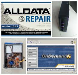 Mitchell carro reparação software on-line-Software de reparação de automóveis Alldata 10.53 + Mitchell Ondemand software de reparação de automóveis Instalado Bem Com Frete Grátis