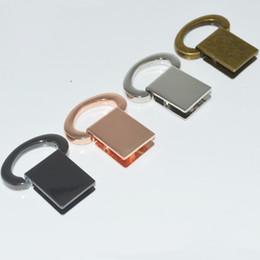 Garnitures en métal pour sacs à main en Ligne-10pcs / lot 4 sacs à main de couleur raccords métalliques alliage haute qualité bricolage sangles à la main avant et arrière anneau de liaison